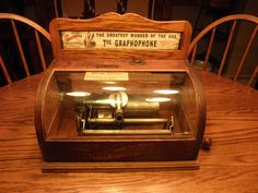 Early Columbia Graphophone Coin Op Cylinder Phonograph     Model BS
