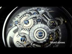 DAVOSA Classic Skeleton Automatic - The Fine Art of Omission - YouTube