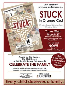 STUCK: an important documentary about the issues orphans are facing. Click through to see how you can watch.