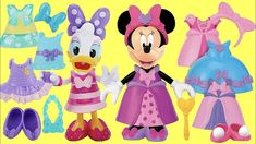 (12) YouTube Daisy Duck, Cupcake Toppers Free, Minnie Mouse, Mix And Match Fashion, Animation, Mix N Match, Fashion Outfits, Fashion Clothes, Disney Characters