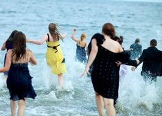 Improv Everywhere's Black Tie Beach mission is Saturday August 18th!  Will you join the mob?