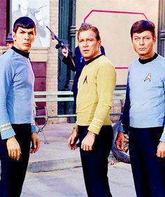 Spock, Kirk and McCoy