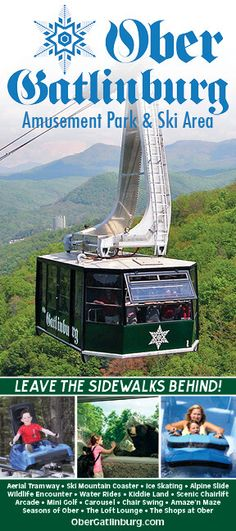 Welcome to the scenic and exciting four-seasons world of Ober Gatlinburg Ski Area and Amusement Park, high above Gatlinburg, Tennessee! Gatlinburg Attractions, Ober Gatlinburg, Gatlinburg Vacation, Tennessee Vacation, Visit Tennessee, Tennessee Gatlinburg, Local Attractions, Alaska Travel, Travel Usa
