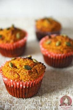 Pyszne dyniowe muffiny. Dieta Paleo.