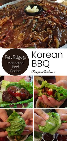Korean Beef Recipes, Easy Asian Recipes, Beef Recipes For Dinner, Ethnic Recipes, Banchan Recipe, Bulgogi Recipe, Korean Bbq, Korean Food, Meat Marinade