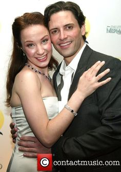 Sierra Boggess & Sean Palmer-- Ariel and Prince Eric in the original Broadway production of The Little Mermaid