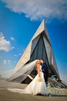 Chapel at the Air Force Academy in Colorado. Beautiful!