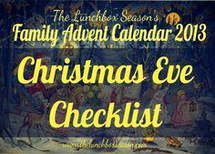 2013 Christmas Eve Checklist 2013