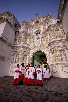 Iglesia de Ciudad Vieja by ivan castro Guatemala, via Flickr