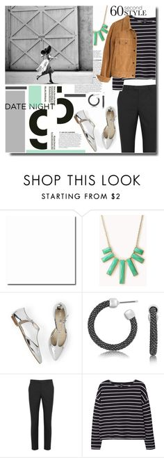 60-Second Style: Last Minute Date by kts-desilva on Polyvore featuring moda, MANGO, Madewell, RED Valentino, Forever 21, DateNight, 60secondstyle and LastMinuteDate