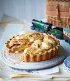 Our cold apple pie recipe is inspired by Edith Nesbit's <i>The Railway Children</i> in which the children eat it for breakfast. It is also just as good served warm.