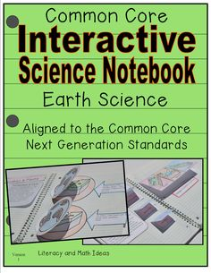 Earth Science Interactive Notebook a short passage is included for every topic too!  Interactive journal inserts and helpful vocabulary words are included as well.  Topics include:  the water cycle, water on Earth, the rock cycle, earthquakes and more.  This is a fun way to learn about science.  STEM and Common Core Next Generation Science Standards aligned $