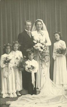 Huwelijk Jan en Riet van Zoest 1948