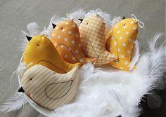 tulip.dekoracie / žlté vtáčky