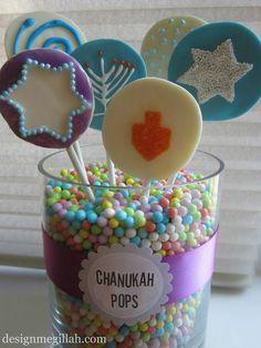 Design Megillah: Chanukah Lollipops