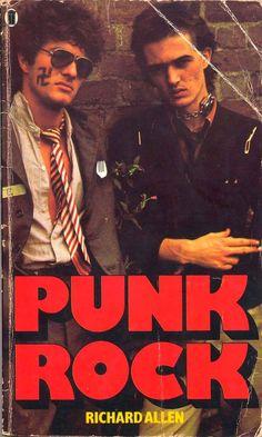 The PUNK ROCK novel by Richard Allen