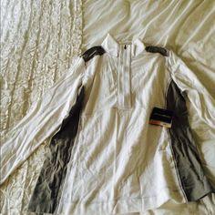 Half zip jacket Never worn Eddie Bauer Jackets & Coats
