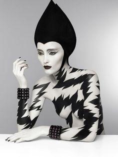 Black and white, Pure Poison  by Patrizio Di Renzo