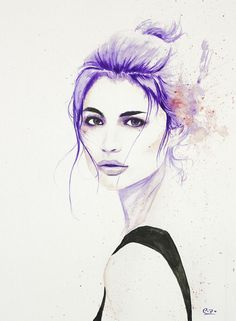 Anne Curtis Watercolor