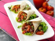 Saftige Rinderhack-Burritos