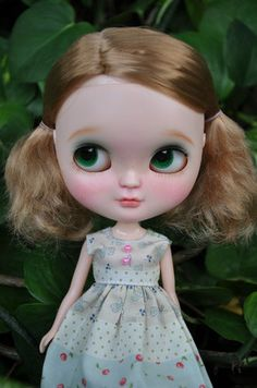 Custom Icy Doll Short Blonde Hair Side Parted | eBay  OMG how adorable!