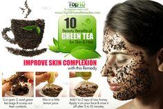 Top 10 Green Tea Benefits for Skin & Hair