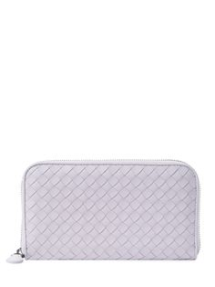 Intrecciato Nappa Zip Around Wallet