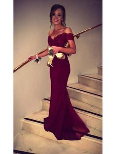 ab6f36957f92 Trumpet/Mermaid Off-the-Shoulder Long Lace Prom Evening Formal Dresses  99602002