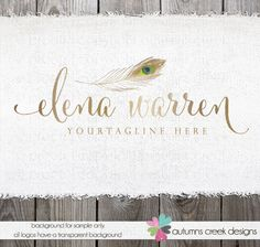 premade logo photography logo photographer logos by autumnscreek
