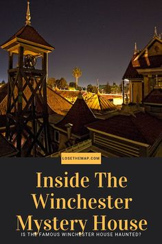 Take a look inside the strange history and spooky interior of the Winchester Mystery House. Why did Sarah Winchester construct this curious maze of a house? Read ahead to find out! World Travel Guide, Travel Guides, Travel Tips, Budget Travel, Family Vacation Destinations, Amazing Destinations, Family Vacations, Family Travel, Travel Destinations