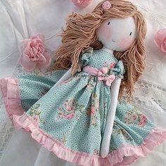 Soft Dolls - Her Crochet Handmade Dolls Patterns, Handmade Rag Dolls, Rag Doll Patterns, Handmade Baby, Fabric Doll Pattern, Homemade Dolls, Baby Girl Dolls, Sewing Dolls, Fairy Dolls