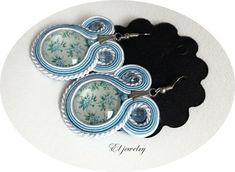 ELjewelry: kolczyki niebieska łąka