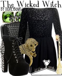 Disneybound: The Wicked witch
