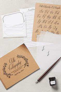 Belle Calligraphy Starter Kit - anthropologie.com 20th
