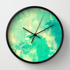 Underwater Wall Clock by Galaxy Eyes - $30.00