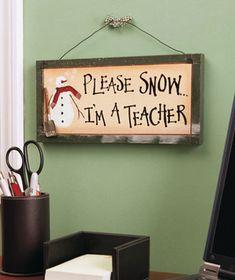 Even teachers like snow days