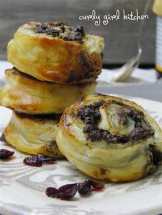 kitchen walnut cranberry puff pastry swirls more sweet breads puff ...