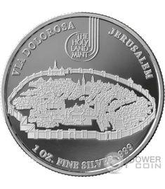 Biblical Series 2015 Niue Ten Commandments 2 oz Silver Coin w// COA /& packaging