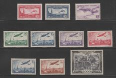 France 1936/1950 - Lot of Airmail - Yvert n° 7 to 29