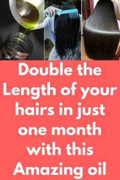 Double the Length of your hairs in just one month with this Amazing oil If you are facing the problem of slow hair growth and falling hair, than this hair oil is simply best for you. Regular use of this oil will nourish your hairs and make them grow longer. Massaging scalp with this will provide nutrition to the hair roots and make them strong. To make this Amazing …