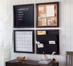 Framework Daily Organization System Collection – Home office organization Office Wall Organization, Home Office Organization, Organization Ideas, Organization Station, Office Storage, Kitchen Storage, Home Office Design, Home Office Decor, Home Decor