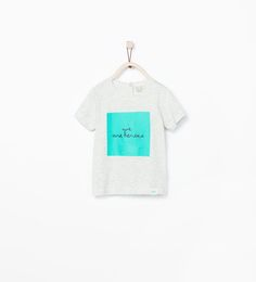 ZARA - KIDS - TEXT T-SHIRT