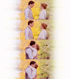 It'll be three years before I get out of med. school, and even then there won't be any diamond rings or marble halls- Gil  I don't want diamond rings or marble halls. I just want you- Anne   Anne of Green Gables.