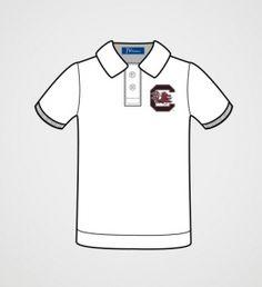 South Carolina Boys' White Polo Shirt | JV Clothiers