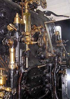 Steam engine onLenin's Funeral Train