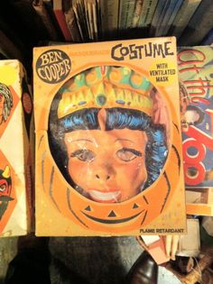 Halloween costumes in a box