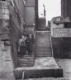 size: Photographic Print: Englishmen Chatting as They Stand on Wapping Old Stairs Which Is a Great Thames Landmark by Carl Mydans : Travel Victorian London, Vintage London, Old London, East End London, London Pubs, Blitz London, Victorian Life, London Pictures, London Photos