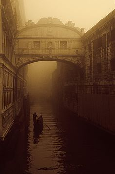 "The ""Bridge of Sighs"" - Venice"