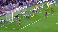 La mano de Piqué que no señaló el árbitro