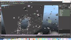 [tutorial | maya nCloth] geometry shatterize / destruction by collision